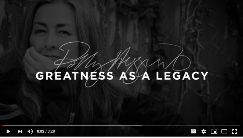 Polly Higgins - greatness as a legacy - video
